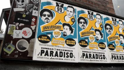 Anniversay party in Paradiso